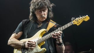 Ritchie Blackmore onstage in Birmingham last month