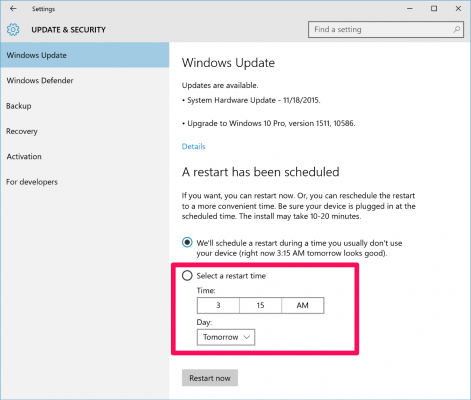 How To Stop Windows Update From Automatically Restarting Laptop Mag