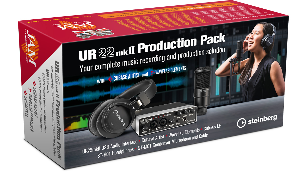 Steinberg's UR22mkII Production Pack gives you everything you need