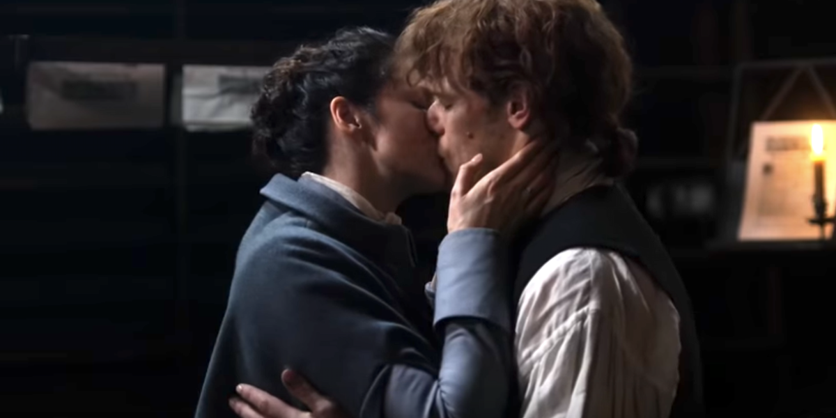 jamie claire reunion after 20 years outlander starz
