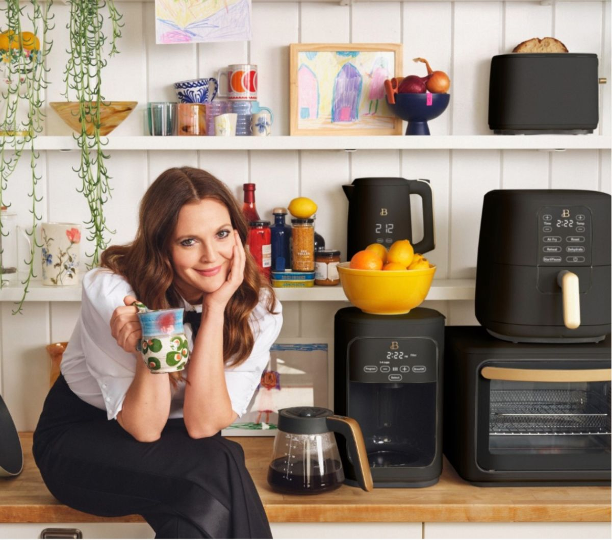 Drew Barrymore's Beautiful Kitchenware just dropped 4 new seriously dreamy shades