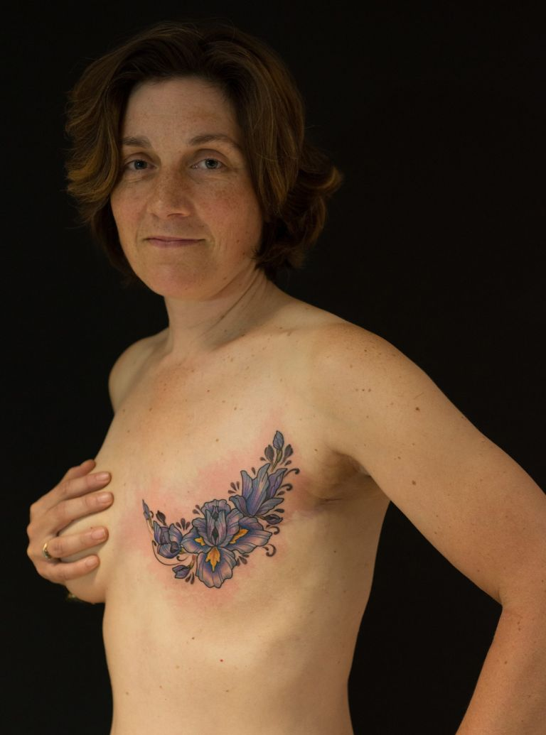 Kerry with tattoo