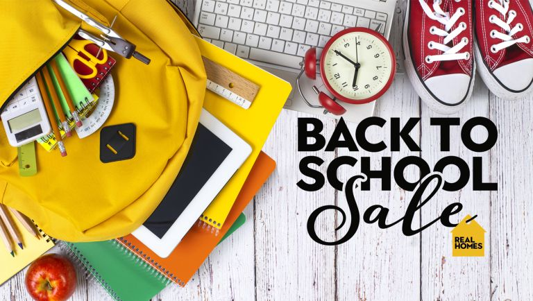 Back to School sales graphic