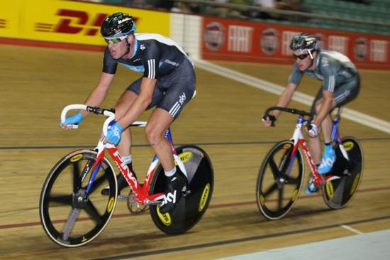 Peter Kennaugh, British national track championships 2010 day2