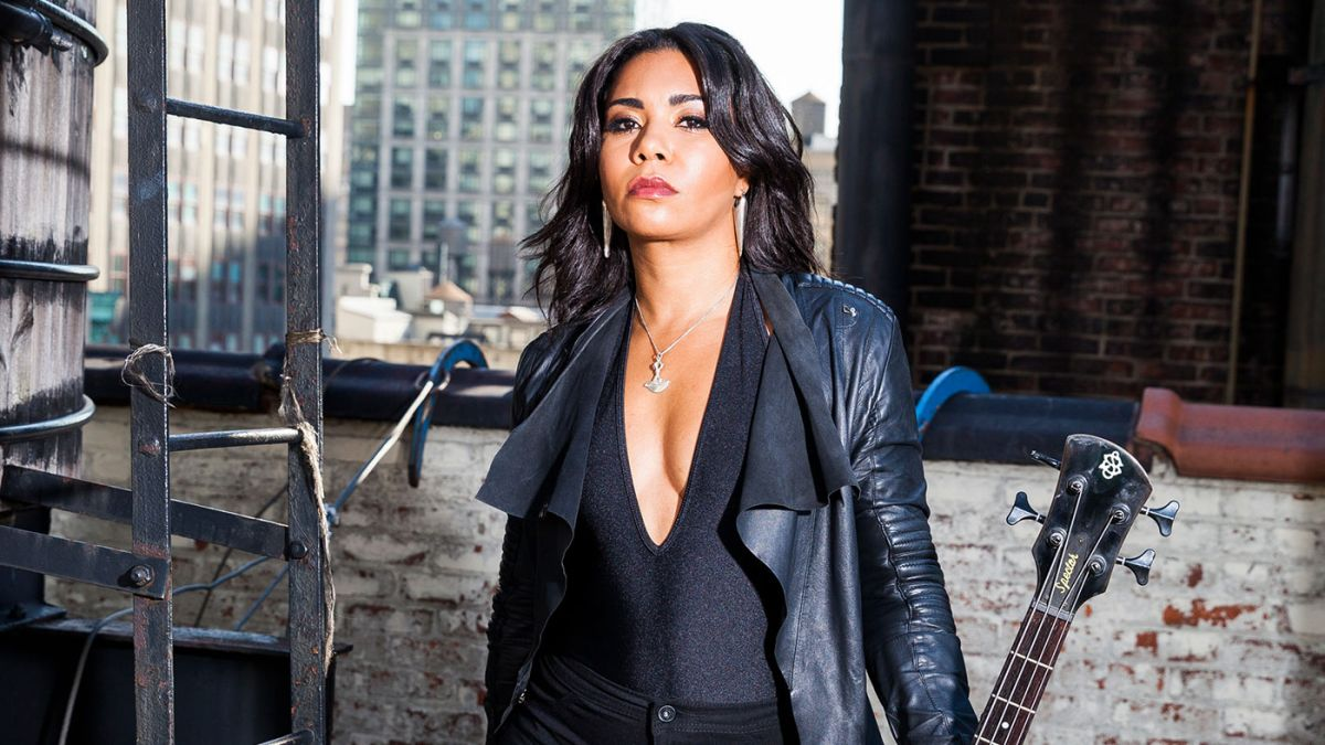 """Jessica Pimentel: """"Bass is a punch that lingers in the air, a hum that lives in the belly and rattles the heart"""""""
