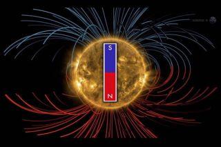 Sun's Magnetic Field to Flip