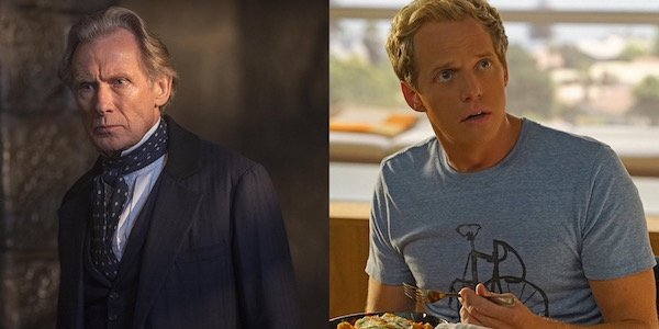 Billy Nighy and Chris Geere