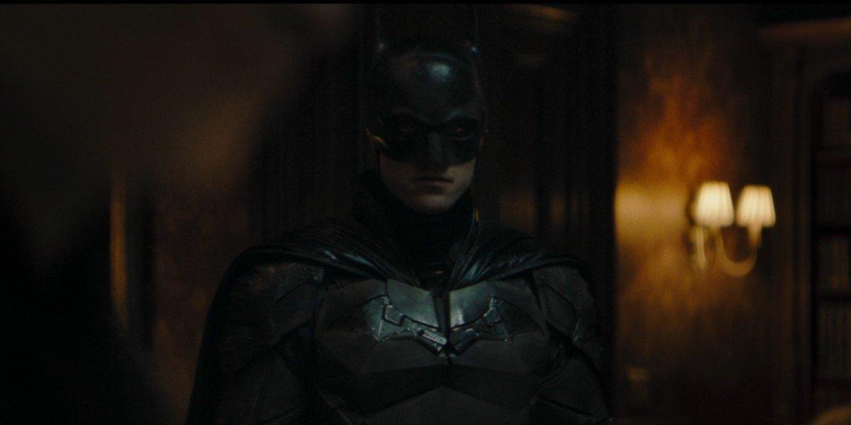 Robert Pattinson as Bruce Wayne/Batman in The Batman (2021)