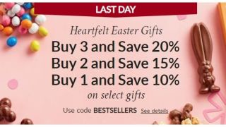 Can't spend Easter with family? Harry & David gift baskets are up to 30% off today only