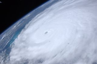 Astronaut Ron Garan tweeted this picture of Hurricane Irene from the International Space Station on August 24, 2011: