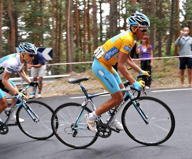 Alberto Contador stage 19 tour of spain 2008