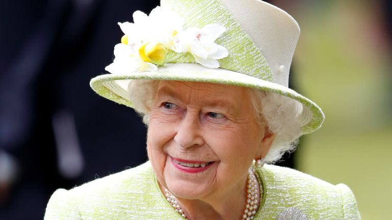 The Queen attends day five of Royal Ascot at Ascot Racecourse on June 22, 2019 in Ascot, England.