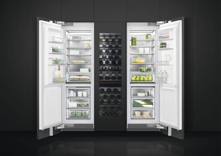 fridge freezer sale: storage open doors by Fisher & Paykel