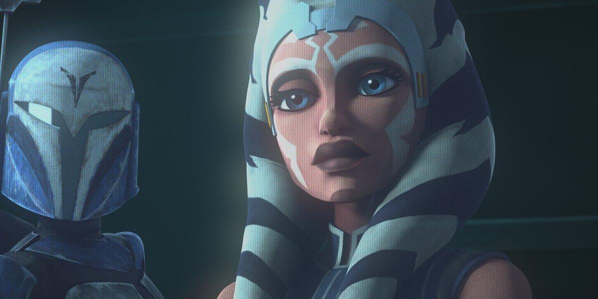 star wars the clone wars siege of mandalore ahsoka hologram bo katan disney+