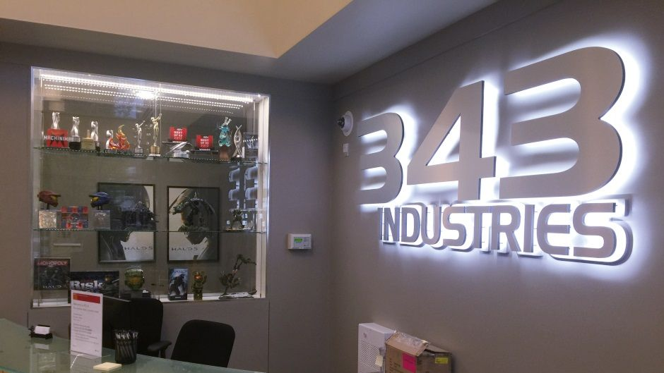 There's a real-life Halo museum at 343 industries and it's full of cool stuff - take a look
