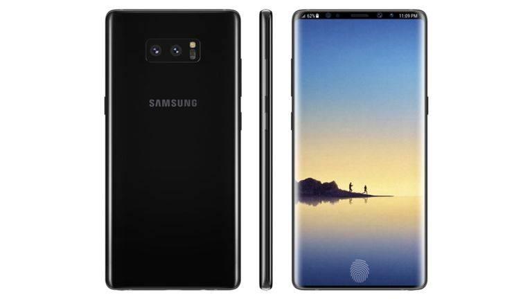 Samsung Galaxy Note 9 concept