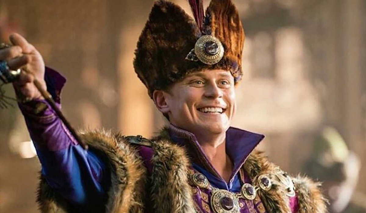 Aladdin Billy Magnussen as Prince Anders