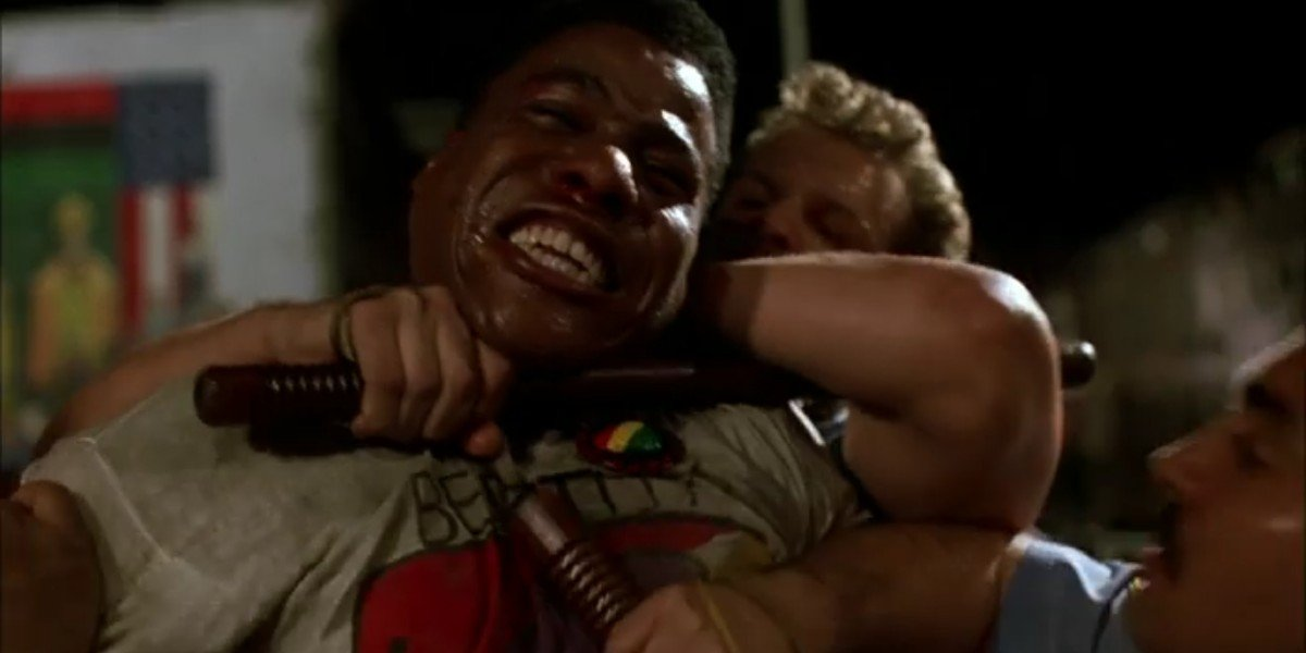 Bill Nunn as Radio Raheem in Do the Right Thing