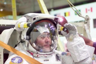 ISS Crew Prepares for First Spacewalk