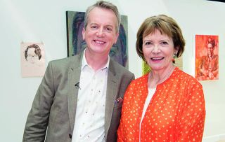 Frank Skinner and Joan Bakewell present this year's hunt for the best portrait artist.