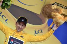 Yellow jersey Fabian Cancellara (RadioShack - Nissan)