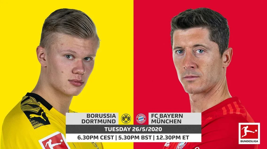Bundesliga live stream: how to watch Borussia Dortmund vs Bayern Munich tonight in Der Klassiker