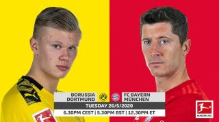 how to watch Borussia Dortmund Vs Bayern Munich bundesliga live stream der klassiker