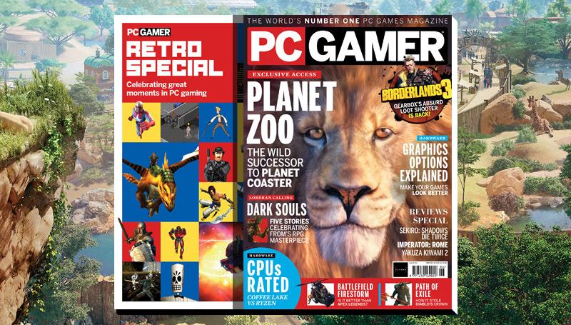 PC Gamer UK June issue: Planet Zoo   PC Gamer