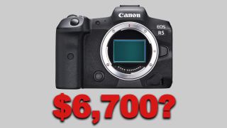 Canon EOS R5 priced $6,700 / £5,500, according to retailer leak