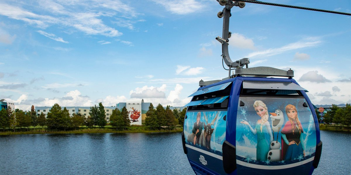 Disney World's Skyliner Being Tested After Visitors Were Stuck On Gondolas