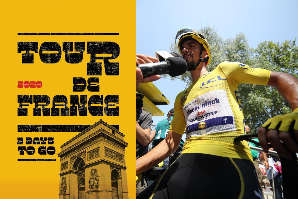 Tour de France live countdown - 2 days to go