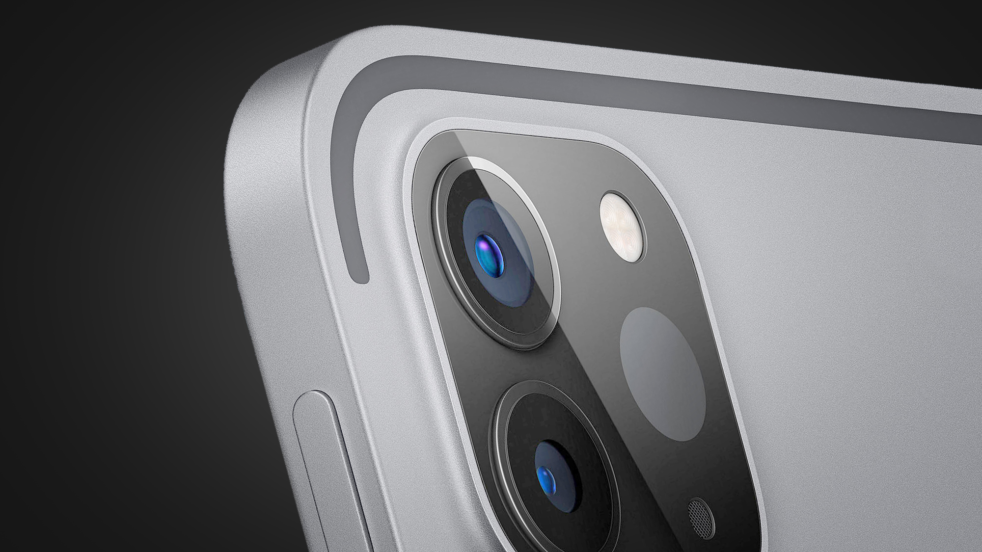 The camera module on the iPhone 12 Pro