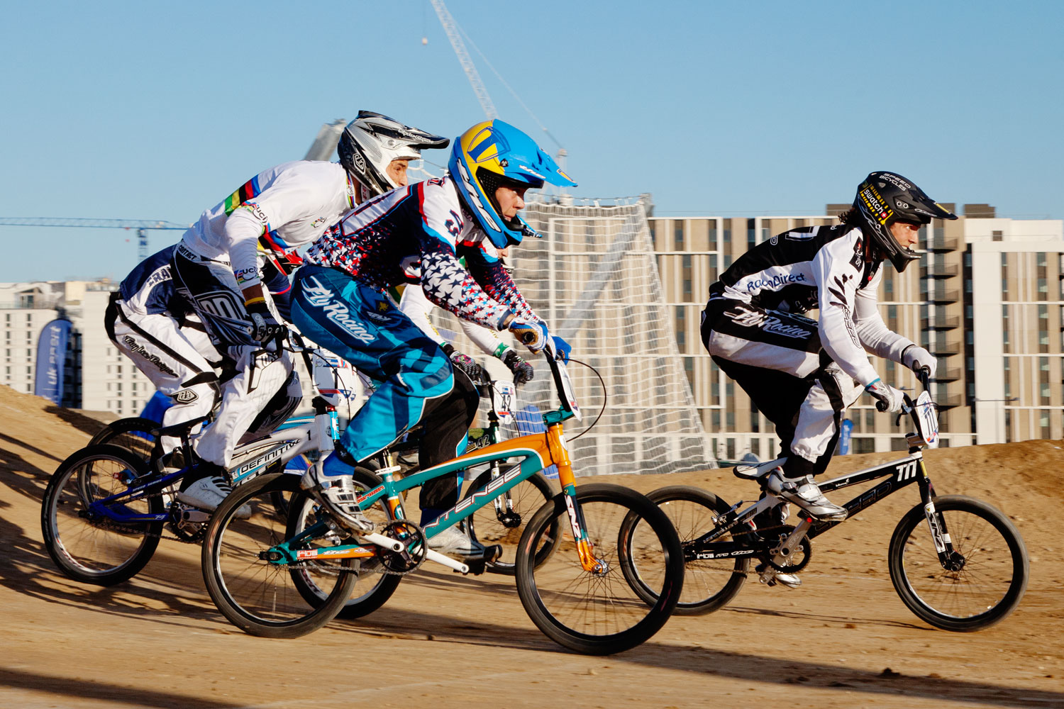 BMX UCI Supercross, London 2012 test event