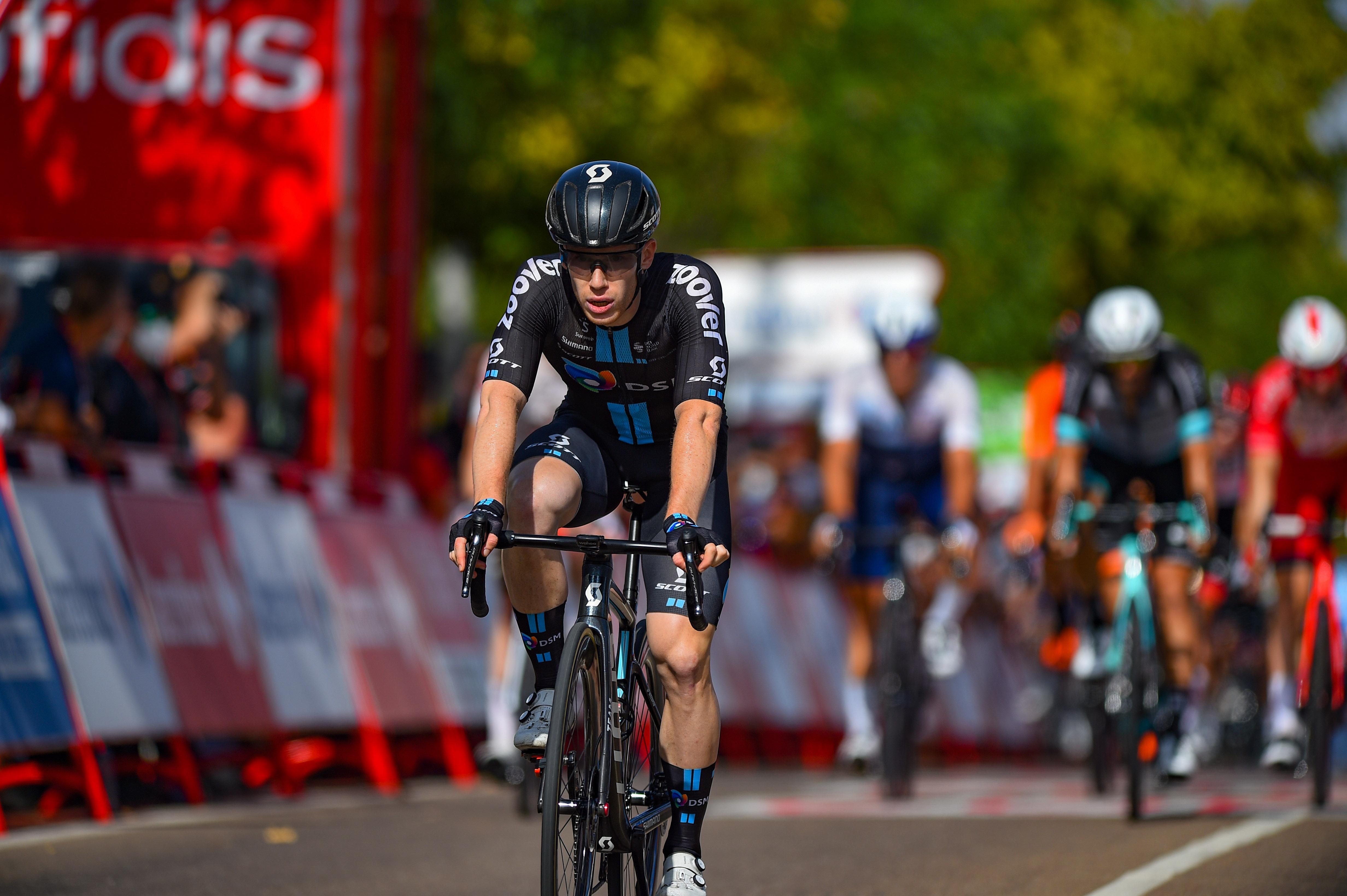Vuelta Espana 2021 - 76th Edition - 13th stage Belmez - Villanueva de la Serena 203,7 km - 27/08/2021 - Alberto Dainese (ITA - Team DSM) - photo Dario Belingheri/BettiniPhoto©2021