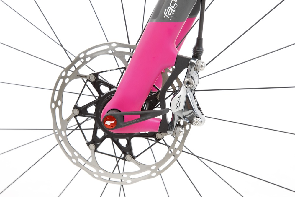 CruX frame uses thru-axles front and rear
