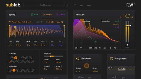 Future Audio Workshop SubLab review | MusicRadar