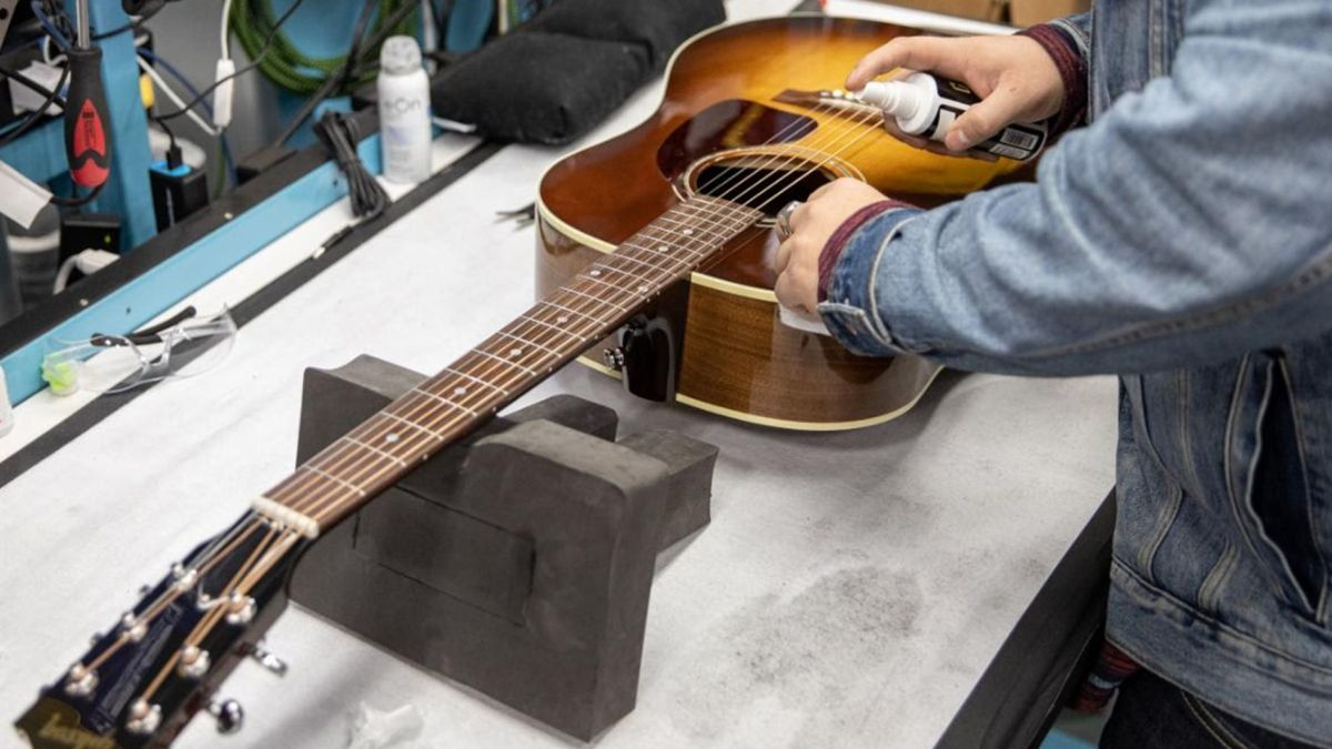 Gibson relaunches its Repair and Restoration shop in Nashville, Tennessee