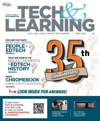 Tech & Learning Celebrates 35th Anniversary at ISTE 2015