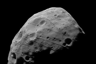 Mysterious Mars Moon a Pile of Rubble