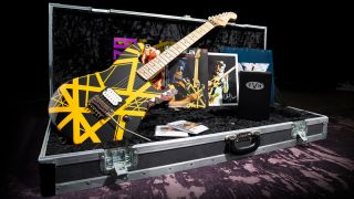 EVH Bumblebee electric guitar replica