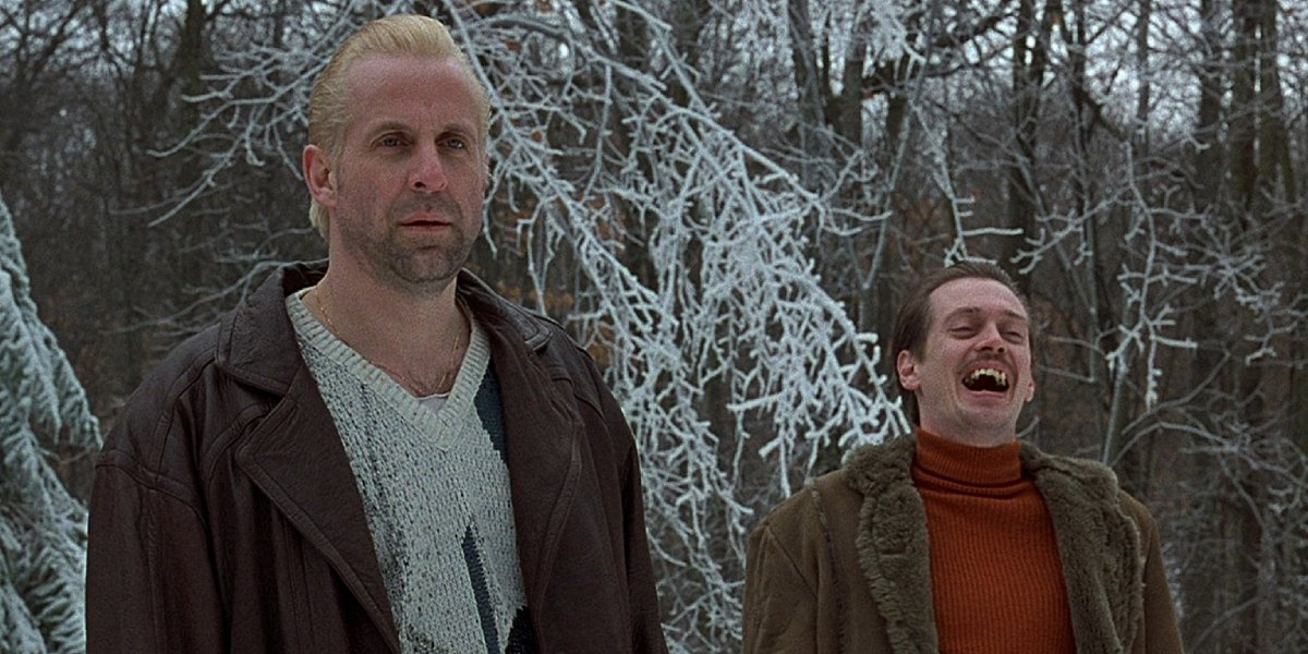 Peter Stormare and Steve Buscemi in Fargo