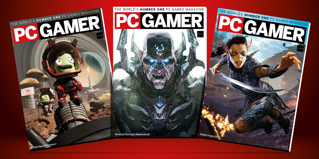 Get 50% off PC Gamer magazine subscriptions for Black Friday
