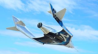 Virgin Galactic's second SpaceShipTwo, VSS Unity