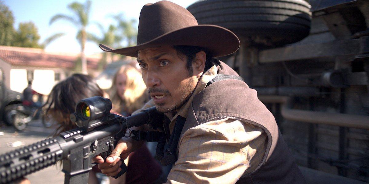 Tenoch Huerta as Juan in The Forever Purge