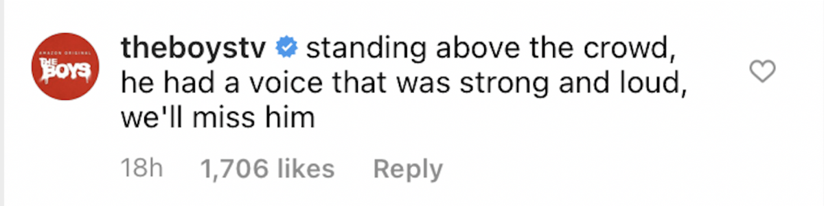 instagram comment screenshot the boys