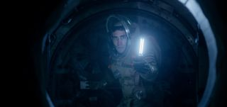 "Jake Gyllenhaal portrays astronaut David Jordan in ""Life,"" a science fiction thriller in theaters March 24, 2017."