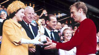 Queen Elizabeth, Bobby Moore, 1966
