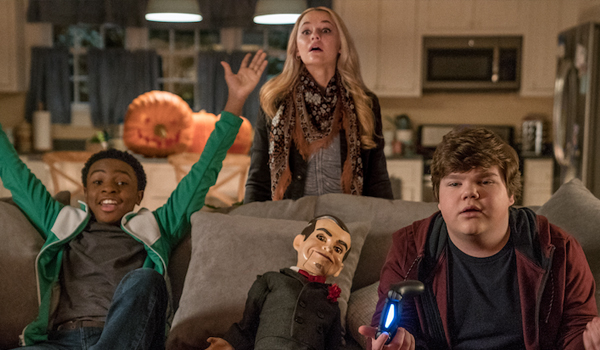 Caleel Harris Ari Sandall Jeremy Ray Taylor  Slappy Goosebumps 2: Haunted Halloween video games on t