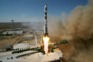Soyuz-FG Rocket Launch from Baikonur