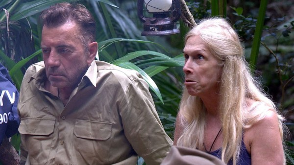 I'm A Celebrity's Duncan Bannatyne and Lady Colin Campbell